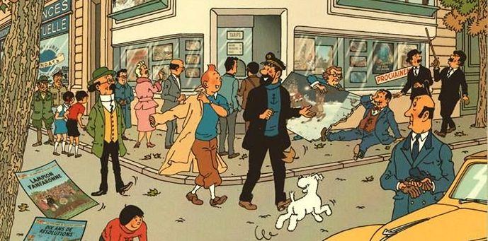 Bruit de couloir: Tintin un retour fin2017.