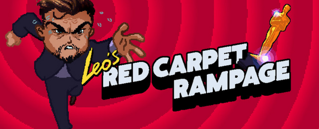 Trouvaille: Leo's Red Carpet Rampage